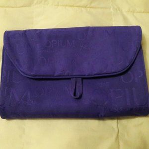 Yves Saint Laurent Purple Opium Cosmetic Bag